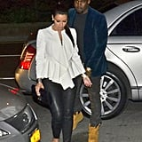 Kim Kardashian and Kanye West Match Up For Date Night