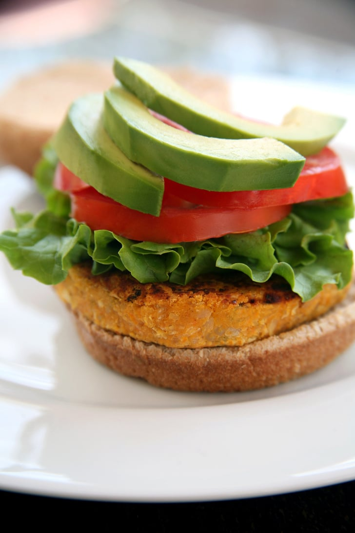Sweet Potato Veggie Burger | Healthy Sweet Potato Recipes ...