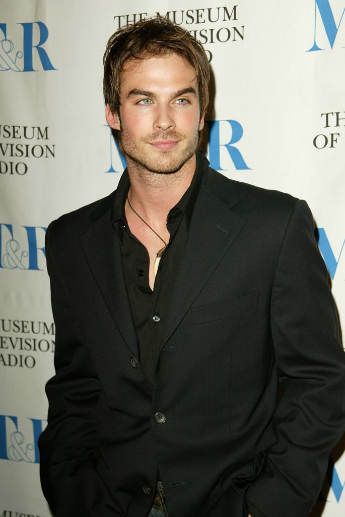 Ian Somerhalder , with noticeably shorter locks, participated in a March 2005 Paley TV Fest discussion panel with the ensemble cast of his primetime series Lost.