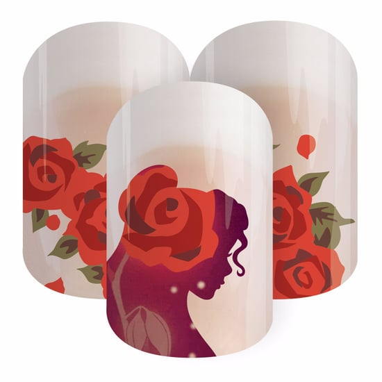 Beauty and the Beast Jamberry Nail Wraps