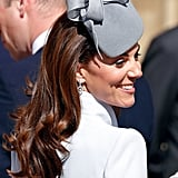 Kate Middleton's Dropped Curls, 2019
