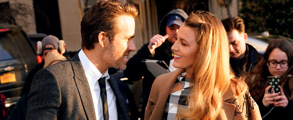 Even Ryan Reynolds's Good Looks Can't Distract You From Blake Lively's Sexy Shoes