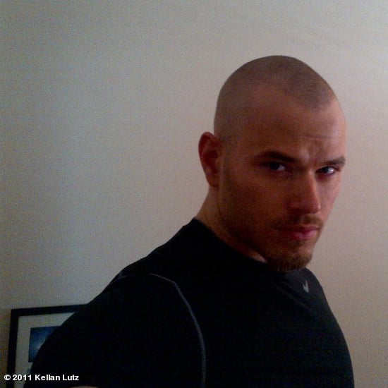 Kellan Lutz Shaves His Head in Australia