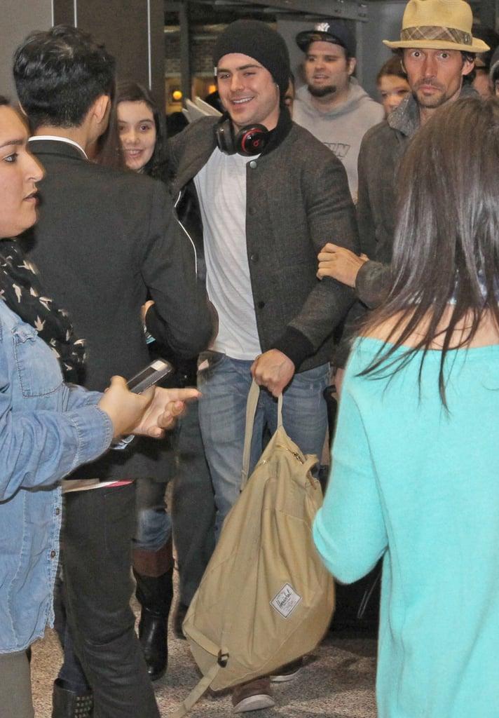 Zaz Efron Is Already Causing a Stir at SXSW