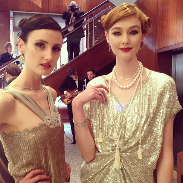 Swoon. All the beautiful jewellery from The Great Gatsby is on display instore at Tiffany & Co. in Sydney. The iconic jewellers designed the whole range especially for the film!
