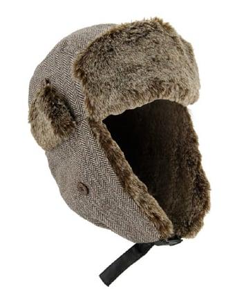 Herringbone Bomber Hat $18.90, Forever 21