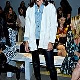 Katie Holmes at the Elie Tahari New York Fashion Week Show