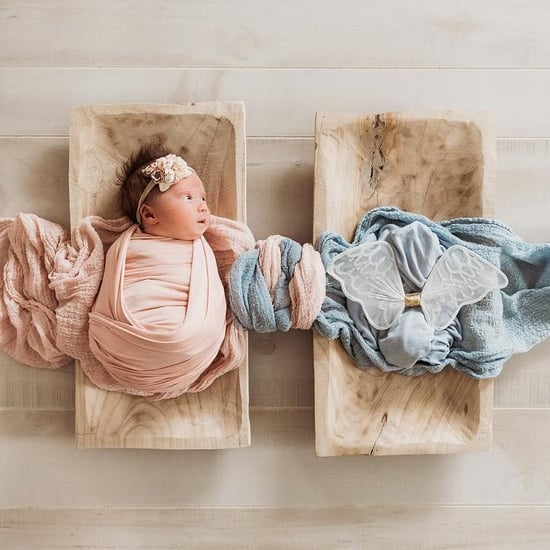 Photo of Newborn Honors Late Twin Brother
