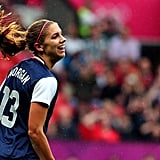 Alex Morgan at the 2012 London Olympic Games
