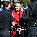 Jane Fonda Arrested at Climate Change Protest
