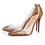 Christian Louboutin Degrastrass PVC Maya Heels