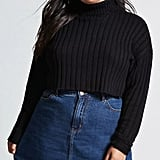 Forever 21 Cropped Turtleneck