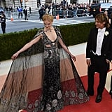 When Keith Urban Was Mesmerized By Nicole Kidman's Caped McQueen Gown