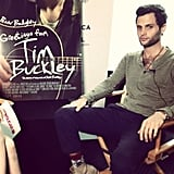 We caught up with Penn Badgley making press rounds for his new film, Greetings From Tim Buckley. Source: Instagram user popsugarent