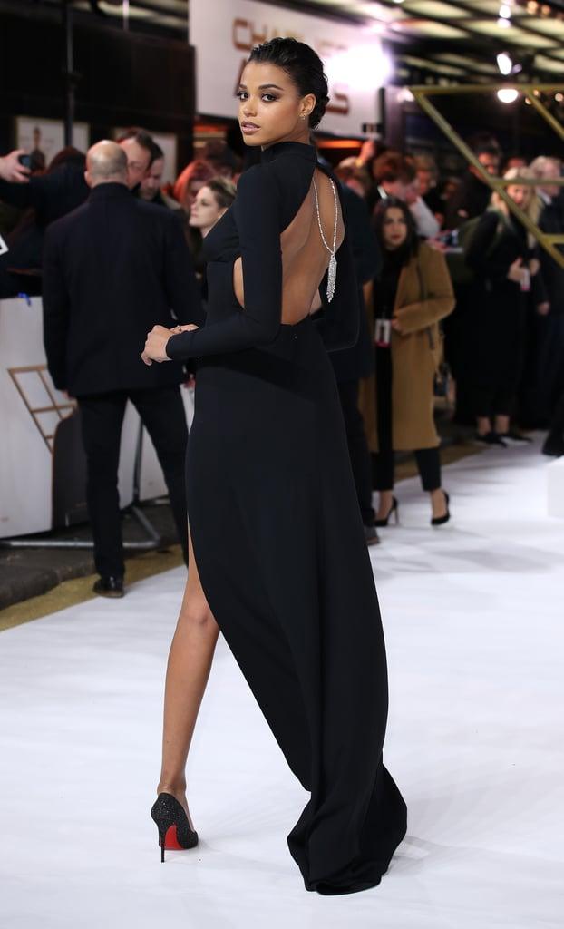 Ella Balinska at the Charlie's Angels Premiere in London