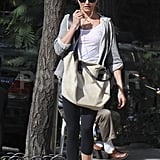 Cameron Diaz headed home from another workout in NYC.