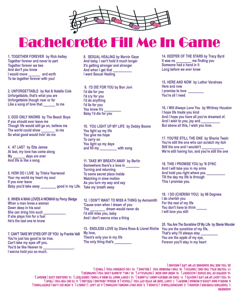 Enterprising image pertaining to bachelorette party games printable