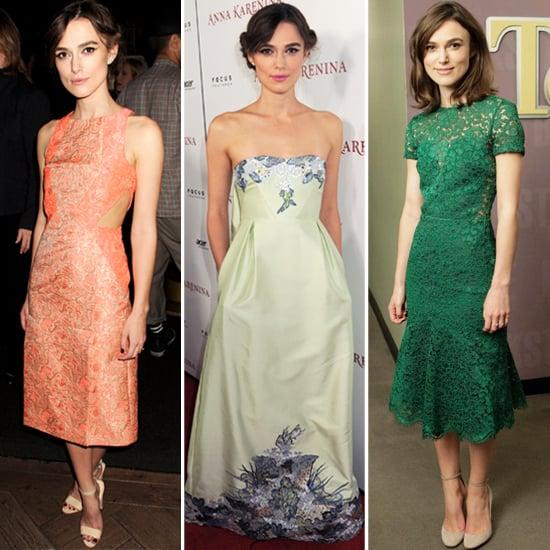 Keira Knightley's Recent Anna Karenina Dresses