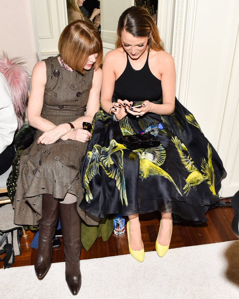 Blake Lively at New York Fashion Week February 2015