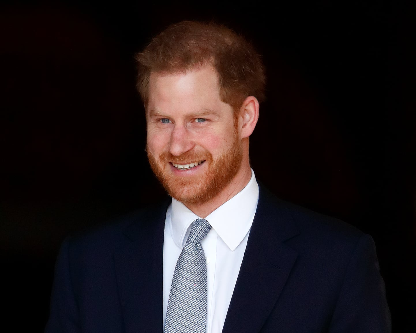 LONDON, UNITED KINGDOM - JANUARY 16: (EMBARGOED FOR PUBLICATION IN UK NEWSPAPERS UNTIL 24 HOURS AFTER CREATE DATE AND TIME) Prince Harry, Duke of Sussex hosts the Rugby League World Cup 2021 draws for the men's, women's and wheelchair tournaments at Buckingham Palace on January 16, 2020 in London, England. (Photo by Max Mumby/Indigo/Getty Images)