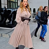 Blake Lively Leaving Her Hotel in New York