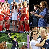 Britain's royal family joined in the Olympic fun — see all the pictures.