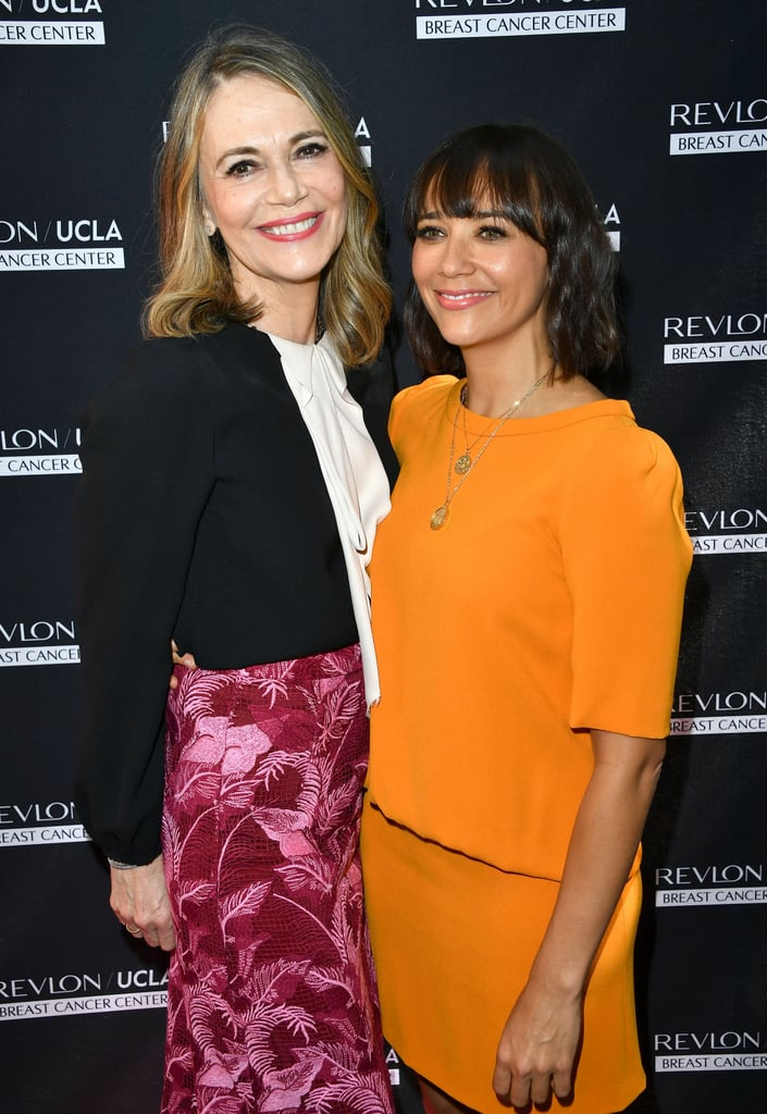 Rashida Jones and Peggy Lipton at Revlon Luncheon
