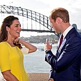 Kate Reminds William of Fruit