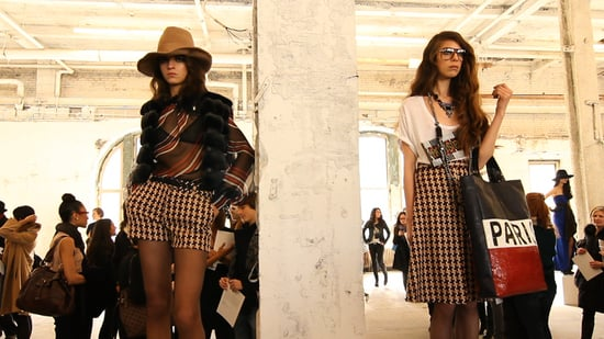 New York Fashion Week Fall 2011: Catherine Malandrino