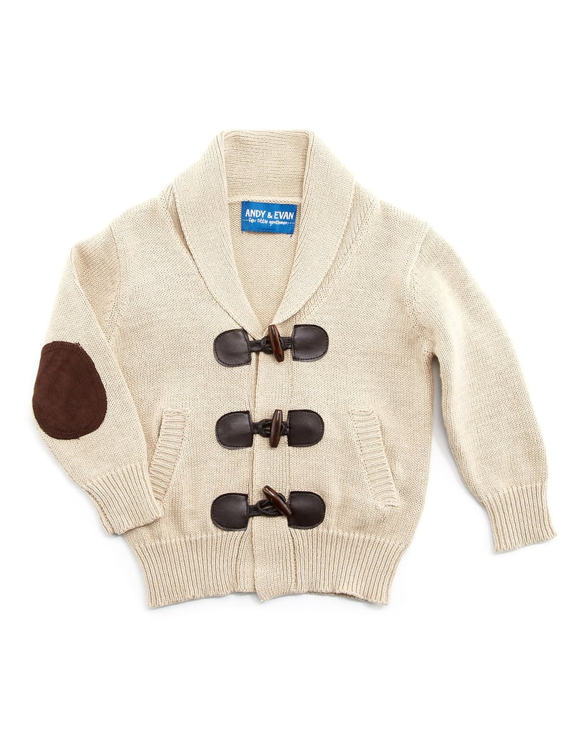He'll win the prize for most dapper thanks to this knit cardigan ($46).