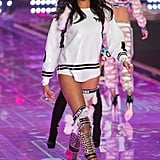 And in the 2014 Victoria's Secret Fashion Show. Imaan is still on the rise too and recently landed a Topshop denim campaign and one for Givenchy as well.