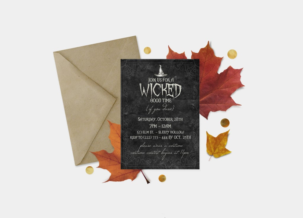 Spooky Costume Party Invites 10 Printable Halloween Party