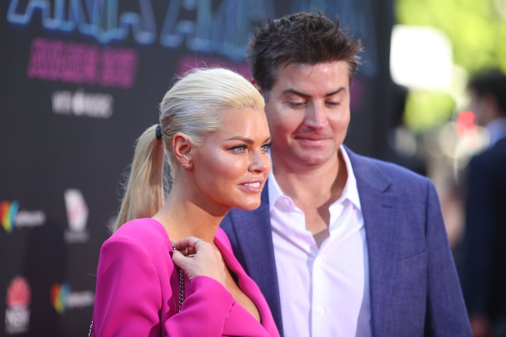 Sophie Monk and Her Beau Stu Were Too Cute on the ARIAs Red Carpet