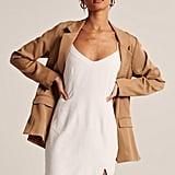 Abercrombie Women's Linen-Blend Slip Dress