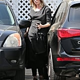 Emily Blunt stopped by a salon to get highlights.