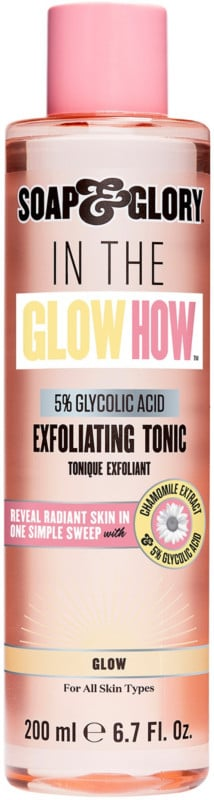 Soap & Glory In the Glow How 5% Glycolic Acid Exfoliating Tonic