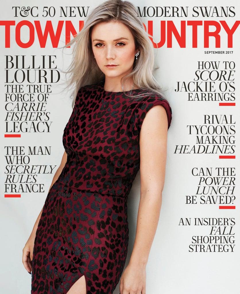 Billie Lourd Town & County Cover September 2017