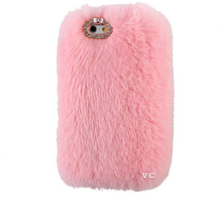 Velvet Caviar Pink Fur iPhone 6 Case ($30)