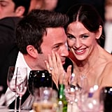 Jennifer stroked Ben's cheek when they attended the Critics' Choice Awards in January 2011.