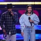 Ne-Yo and Naya Rivera