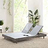 Portside Outdoor Textilene Chaise Double Lounger