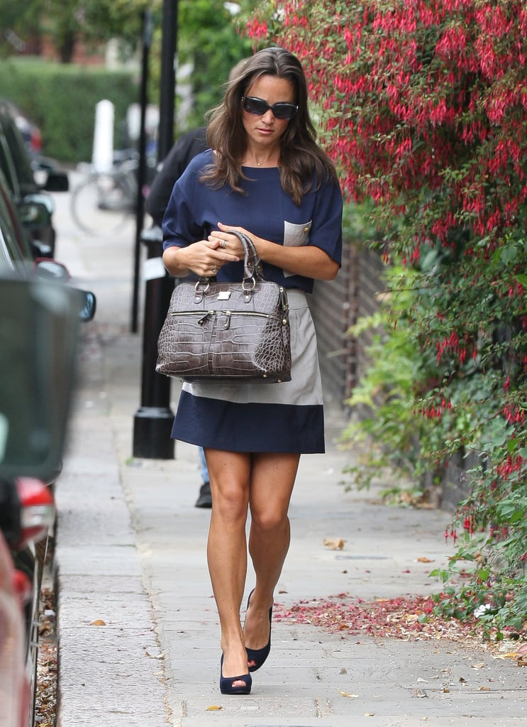Pippa Middleton Photos in a Summer Dress