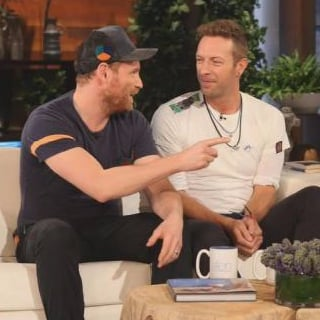 Coldplay Interview on The Ellen DeGeneres Show December 2015