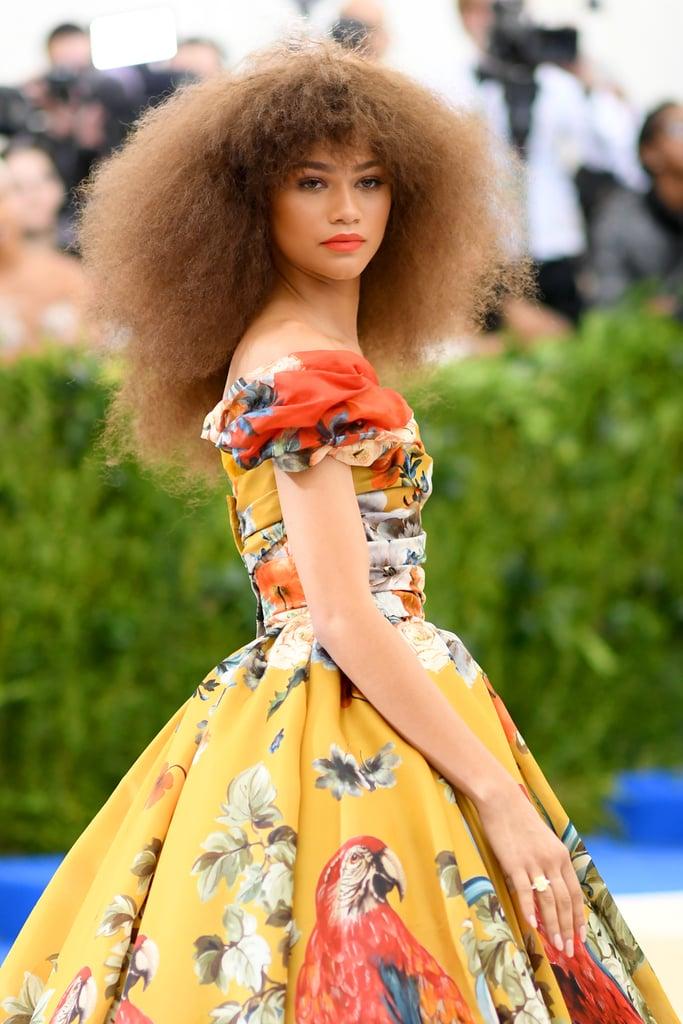 Zendaya Hair Makeup at the Met Gala 2017