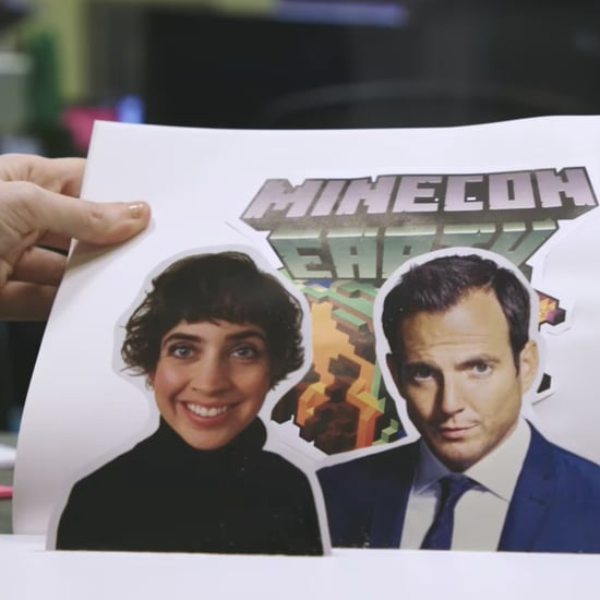 Will Arnett, Lydia Winters Host Minecraft Minecon Earth 2017