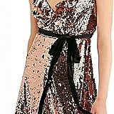 Free People Sequined Mini Party Dress
