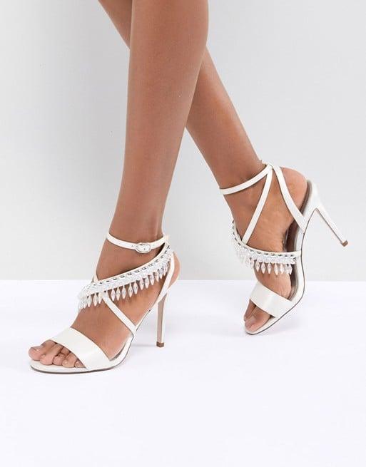 ASOS Design Hydro Bridal Embellished Heeled Sandals