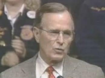 "President Bush Says ""Sex"" in Speech"
