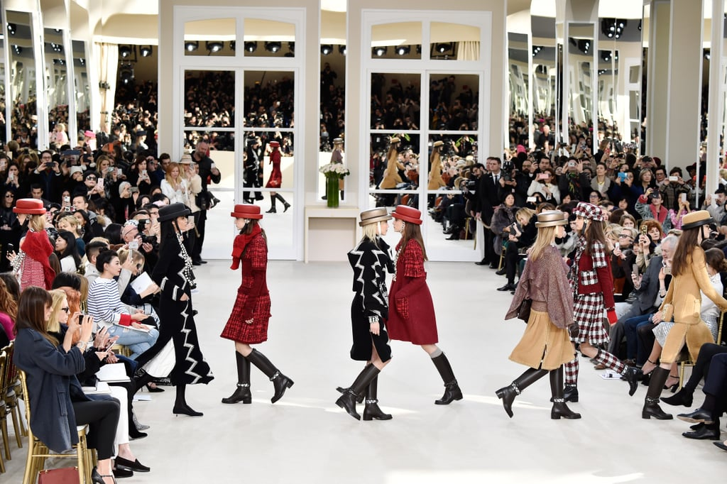 Chanel Looks Back to Tradition in the Grand Palais, Fall/Winter 2016