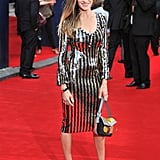 Sarah Jessica Parker wore a Marc Jacobs dress.